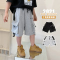 trousers Other / other male 130, 140, 150, 160, 170 summer shorts Korean version There are models in the real shooting Casual pants Leather belt middle-waisted cotton Don't open the crotch Cotton 95% other 5% Class B Five, six, seven, eight, nine, ten, eleven, twelve, thirteen, fourteen