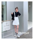 skirt Spring 2021 S,M,L white Short skirt commute 18-24 years old AD2330 Superior conduct Korean version