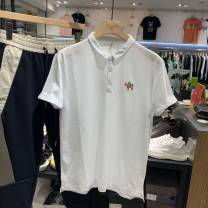 Polo shirt Other / other Youth fashion thin M,L,XL,2XL,3XL,4XL Self cultivation go to work summer Short sleeve Youthful vigor routine teenagers 2020 cotton washing
