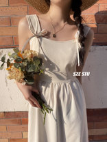 Dress Spring 2021 Apricot, dark blue, light blue S, M