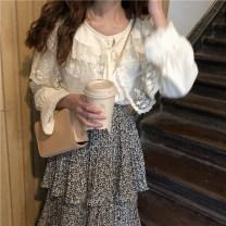 Fashion suit Spring 2021 Average size Shirt, cake skirt 18-25 years old C-0251-2#