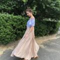 skirt Summer of 2019 0,1 Black, Khaki