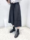 skirt Summer 2021 Average size Cy-cs50025 irregular hem skirt is black, cy-cs50025 irregular hem skirt is white, cy-cs50025 irregular hem skirt is khaki