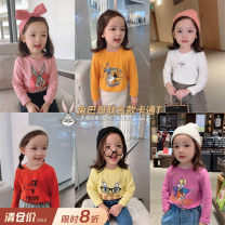 T-shirt Chen Chen's mother female spring and autumn Long sleeves Crew neck leisure time There are models in the real shooting nothing other Cartoon animation Other 100% 12 months, 18 months, 2 years old, 3 years old, 4 years old, 5 years old