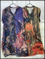 Dress Summer 2020 Dark green No.1, Tibetan green No.2 2XL,XL,L