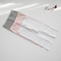 trousers Other / other female 100cm,110cm,120cm,130cm,140cm,150cm White, gray, pink summer Cropped Trousers No model Leather belt middle-waisted other Don't open the crotch Other 100% 2, 3, 4, 5, 6, 7, 8, 9, 10 years old