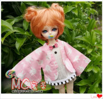 BJD doll zone loose coat 1/4 Over 14 years old goods in stock [only Hanfeng coat] pink rabbit head 6 points [3-7 days delivery], 4 points Juying [3-7 days delivery]