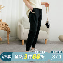 Casual pants black S,M,L Spring 2021 trousers routine cotton