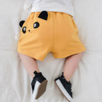 trousers Tagkita / she and others neutral 66cm,73cm,80cm,90cm,100cm,110cm,120cm summer shorts Cartoon There are models in the real shooting Big PP pants Leather belt low-waisted cotton Open crotch Cotton 90% other 10% other Chinese Mainland Guangdong Province Foshan City