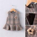 Dress female Other / other 80cm,90cm,100cm,110cm,120cm,130cm Other 100% spring and autumn Korean version Skirt / vest other other A-line skirt other 18 months, 2 years, 3 years, 4 years, 5 years