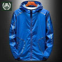 Outdoor sports windbreaker ZHAN DI JI PU SWL-8203 Two hundred and eighty-eight male 201-500 yuan MLXL2XL3XL4XL5XL Spring autumn summer Summer of 2018 routine yes