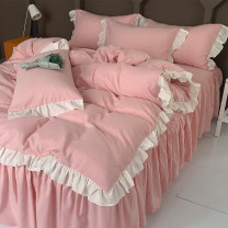 Bed skirt Others Lace - Girl Pink Lace - silver fir Green Lace - Fairy Purple Lace - pure white lace - pure white + grey Lace - star sky grey Lace - Charming yellow Znj / Zhuoni Jia Solid color Superior products 9dOCbI