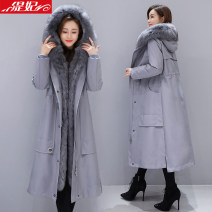 woolen coat Winter 2020 M L XL XXL other 30% and below have more cash than can be accounted for Long sleeves commute Buckle routine Hood Solid color High waist type Korean version Tifei 25-29 years old Solid color Pure e-commerce (online only)
