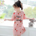 Home skirt / Nightgown Aier rabbit 110cm 120cm 130cm 140cm 150cm 160cm Cotton 100% summer female 11-13 years old 3-5 years old 5-7 years old 7-9 years old 9-11 years old Home Class B Pure cotton (100% cotton content) Summer 2020