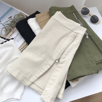 Jeans Summer 2021 Black, white, apricot, green, khaki S,M,L shorts High waist routine 18-24 years old 31% (inclusive) - 50% (inclusive)