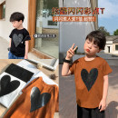 T-shirt White, black, caramel OO+KIDS 80cm,90cm,100cm,110cm,120cm,130cm,140cm neutral spring and autumn Short sleeve Crew neck Korean version There are models in the real shooting other other other 2 years old, 3 years old, 4 years old, 5 years old, 6 years old Chinese Mainland