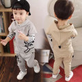 suit foot&cool male spring and autumn leisure time Long sleeve + pants 3 pieces routine There are models in the real shooting Socket other cotton friend birthday Class A Spring 2020 3 months 6 months 12 months 9 months 18 months 2 years 3 years 4 years old