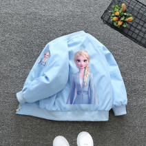Plain coat Other / other female 90cm,100cm,110cm,120cm,130cm,140cm,150cm,160cm spring and autumn princess Zipper shirt No model routine nothing Cartoon animation other stand collar ST188 Other 100% Class B