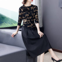 Women's large Spring 2021 Picture color L XL 2XL 3XL 4XL Dress 21116-18 Xinzhiyao 30-34 years old 96% and above Medium length Other 100% Exclusive payment of tmall other