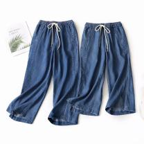 Jeans Spring 2021 Dark blue Capris, dark blue Capris, light blue Capris, light blue Capris S,M,L,XL,2XL