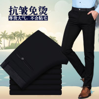 Casual pants Others Fashion City 28,29,30,31,32,33,34,35,36,38 trousers Other leisure Straight cylinder get shot SF Four seasons middle age Business Casual middle-waisted Straight cylinder No iron treatment