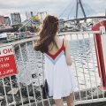 Dress Summer of 2018 Picture color S,M,L Mid length dress singleton  Sleeveless commute V-neck other camisole 25-29 years old Other / other Korean version five point three one