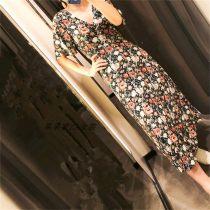 Dress Autumn of 2018 Floral Dress S M L LYF6045-886