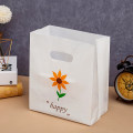 Gift bag / plastic bag Small size (22 * 32 * side 12cm) Sunflower, kettle, lovers, star, favorite food, white light version Package [50]