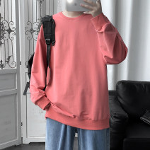 Sweater Youth fashion Others White, gray, black, yellow, blue, pink M. L, s, XL, 2XL, 3XL, XS plus small, 4XL, 5XL Solid color Socket routine Crew neck autumn easy leisure time youth tide routine Fleece  cotton No iron treatment 50% (inclusive) - 69% (inclusive) Japanese and Korean style