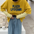T-shirt Youth fashion Gray, yellow, dark blue routine S. M, l, XL, 2XL, 3XL, XS plus small Others Long sleeves other easy daily Four seasons teenagers routine tide 2021 Alphanumeric cotton