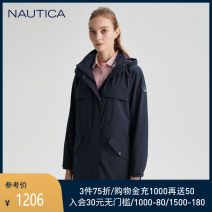 short coat Spring 2021 S M L XL 0py gray (211) 4nv Navy (211) Long sleeves Hood 25-29 years old Nautica / nodica 96% and above 001-11JO04 polyester fiber Polyester 100% Same model in shopping mall (sold online and offline)