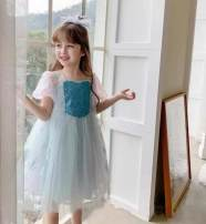 Dress Pink, sky blue female Other / other 5-110,7-120,9-130,11-140,13-150 Other 100% winter lady Short sleeve Cartoon animation polyester fiber A-line skirt Class B 3 years, 18 months, 9 months, 5 years, 9 years, 7 years, 8 years, 12 months, 3 months, 6 years, 6 months, 2 years, 4 years, 10 years