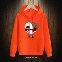 Sweater / sweater male spring and autumn No detachable cap Korean version Socket Plush No model Cotton blended fabric Cartoon animation Cotton 68.7% polyester 26.3% polyurethane elastic fiber (spandex) 5% Class B Intradermal bile duct