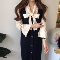 Fashion suit Spring 2021 S,M,L Shirt, skirt 18-25 years old 71% (inclusive) - 80% (inclusive)
