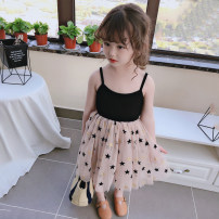 Dress As shown in the figure female Other / other Other 100% summer leisure time 2 years old, 3 years old, 4 years old, 5 years old, 6 years old, 7 years old