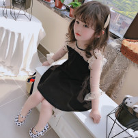 Dress black female Other / other The recommended height is 90cm-100cm for size 7, 100cm-110cm for size 9, 110cm-120cm for size 11, 120cm-130cm for size 13 and 130cm-140cm for size 15 Other 100% spring and autumn 2 years old, 3 years old, 4 years old, 5 years old, 6 years old, 7 years old