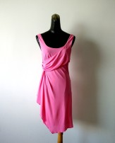 Dress Summer 2020 Pink 34,38,40 Sleeveless street middle-waisted Irregular skirt More than 95% other Europe and America