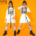 suit Li Liantong 110cm 120cm 130cm 140cm 150cm 160cm 170cm female winter leisure time Long sleeve + pants 2 pieces routine There are models in the real shooting Socket nothing children Expression of love LLT-201213L-04 Class B Cotton 91% polyurethane elastic fiber (spandex) 9% Winter 2020
