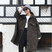 short coat Autumn 2020 50. XL, XXL, XXL, l [85-115 Jin], XL [115-135 Jin], 2XL [135-165 Jin], 3XL [165-200 Jin], [collection and purchase priority], [good quality counter quality] Picture color Long sleeves Medium length routine singleton  easy commute routine stand collar Single breasted 6295#