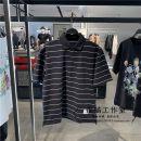 Polo shirt Peacebird other routine black S,M,L,XL,2XL easy Other leisure summer Short sleeve B1DBB2216 tide 2021 stripe washing