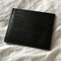 wallet Short Wallet cowhide Other / other black 90% off top layer leather