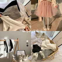 Children's socks (0-16 years old) Pantyhose Black, white, gray, white (presale 3.31), gray (presale 3.31) S, m, l, XL Other / other spring and autumn female