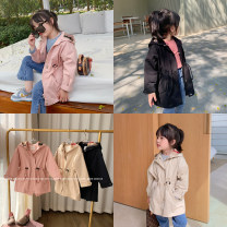 Windbreaker Black, pink (in stock), khaki (in stock) 80, 90, 100, 110, 120, 130, 140, 150 Other / other female spring and autumn other other