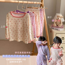 Home suit Other / other 80, 90, 100, 110, 120, 130, 140, 150 spring and autumn female 18 months, 2 years old, 3 years old, 4 years old, 5 years old, 6 years old, 7 years old other