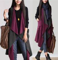 Vest Spring of 2019 Purple with grey One size fits all [110-230 Jin] Medium length Versatile Solid color No buckle straps 18-24 years old Other / other 81% (inclusive) - 90% (inclusive) polyester fiber straps