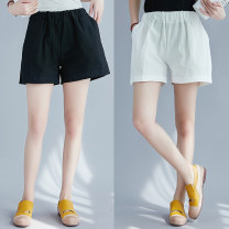 Casual pants White, black One size fits all Summer of 2018 shorts Versatile routine 51% (inclusive) - 70% (inclusive) Other / other