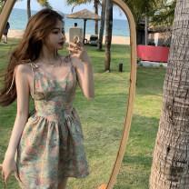 Dress Summer 2020 Picture color S code, M code Short skirt singleton  Sleeveless commute 18-24 years old Korean version XT