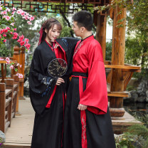 National costume / stage costume Autumn of 2018 Two piece suit with big sleeves S M L XL XXL B0720 Han Yijia 18-25 years old Other 100% Pure e-commerce (online only)