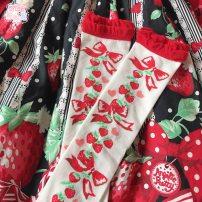 Socks / base socks / silk socks / leg socks female 0C 1 pair Women's socks in one size fits all Cream 1 pair
