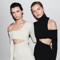 Dress Winter 2020 White, black XS,S,M,L longuette singleton  Long sleeves street V-neck High waist Solid color zipper other routine Others Type X kleezy 81% (inclusive) - 90% (inclusive) other other Europe and America